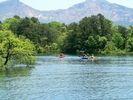 【桧原湖カヌー体験】11:50集合!ダッチオーブンランチ付午後半日コース初チャレンジ率95%の様子