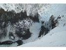 【北海道・網走】氷の芸術、二つの滝を巡るスノーシュートレッキングの様子