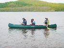【北海道・釧路川】ゆっくりと自然の風を感じよう!カヌー体験半日コース(釧路川湿原コース)の様子