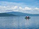 【北海道・釧路川】澄んだ空気の中で自然を体験!カヌー体験半日コース(屈斜路湖・釧路川源流部コース)の様子