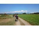 【北海道・帯広】冬季も開催!ホーストレッキング(90分・河川コース)の様子