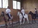【北海道・帯広】乗馬体験レッスンコースの様子