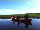 【北海道・釧路湿原・釧路川】朝の静けさを感じるモーニングカヌーの様子