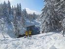 【北海道・大雪山】絶景スノーシュー★旭岳・天人峡・カモ沼・ワサビ沼コースの様子