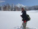 【北海道・十勝岳】嬉しい温泉付き♪スノーシュー体験!(半日コース)の様子