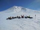 【北海道・大雪山】絶景スノーシュー★旭岳・天人峡1日おまかせコースの様子