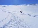 【北海道・大雪山】パウダースノー三昧!バックカントリースキーコースの様子