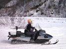 【スノーモービル】スノーモービル 青木湖周辺(60分コース)の様子