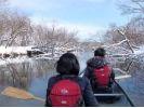 【北海道・釧路川】カヌーとスノーシュー履いて釧路湿原を見てみよう!の様子
