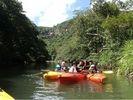 【沖縄・西表島】カヌー体験ピナイサーラの滝(1日コース)(滝上&滝つぼ)の様子