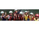 【京都・保津川】小学1年生から参加OK!のんびりラフティングツアー(10:30スタート)の様子