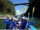 【長野・天竜川】天然温泉入浴券付き!ラフティング体験(半日コース)の様子