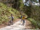 【長野・黒川渓谷】MTB体験(マウンテンバイク)大平宿・鳩打林道コースの様子