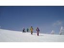 【長野・浅間山】アルプス、八ヶ岳、富士山を望む雲上の大パノラマ!高峰温泉周遊スノーシュートレッキングの様子