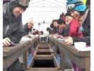 【福島・桧原湖】ワカサギ釣り体験 8:30集合!~自分で唐揚げ体験付~参加者の初チャレンジ率95%!の様子