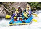 【北海道・日高でラフティング】清流日本一・沙流川ファミリーラフティング 半日ツアーの様子