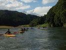 【カヌー】カナディアンカヌー 体験コースの様子