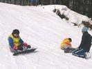 【兵庫・但馬】キッズ対象!スキー&スノーボードスクール(60分コース)の様子