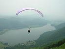 【長野・木崎湖でパラグライダー】タンデムフライトコース(60分~90分)の様子