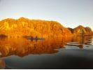 【北海道・十勝】屈足湖(くったりこ)のんびりカヌーツアーの様子