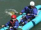 【北海道・十勝川】スリル満点の川下り!ダッキーツアー(半日コース)の様子