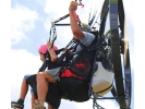 【茨城】ベテランインストラクターと一緒につくばの空を飛ぼう!モーターパラグライダー体験の様子