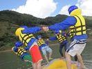【新潟県・三条市】穏やかなヒメサユリ湖でレイクラフティング体験!の様子