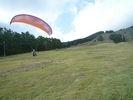 【宮城・泉ヶ岳】初心者向け!パラグライダー体験コースの様子