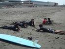 【神奈川・初心者向け】本格的にサーフィンを始めたいあなたへ!ビギナー体験コース!の様子