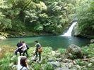 【鹿児島 奄美大島】1日コースE マテリアの滝&マングローブカヌーツーリングの様子
