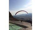 【茨城 石岡・タンデム】大空へ飛んでみよう!校長先生と二人乗りプラン!(パラグライダー)の様子
