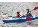 【群馬/水上】楽しみながら湖を満喫 半日カヌーツアーの様子