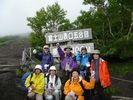 【静岡 富士宮 富士山】50才以上の中高年だけで登る富士登山一泊二日コース【S4コース】の様子