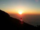 【山梨 河口湖 富士山】富士山頂での「ご来光」にこだわる 富士登山一泊二日コース【S5コース】の様子