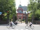 【北海道・札幌】ポロクルで行く札幌まちめぐりサイクリングツアーの様子