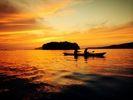 【山口 長門・3時間】夜の幻想的な海を満喫しよう!サンセットツアー!【シーカヤック】の様子