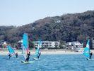 【神奈川・逗子】ウインドサーフィンに最適の逗子海岸でまずは半日体験してみませんか(初めての方限定)の様子