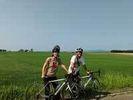 【北海道・札幌】石狩平野お手軽サイクリング&温泉グルメツアーの様子