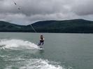 【山梨・山中湖】ウェイクボード体験(VIPプラン)の様子