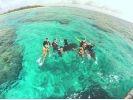 【沖縄・北部エリア/水納島】ボートシュノーケル&のんびり海水浴(ランチBBQ付き!)半日コースの様子