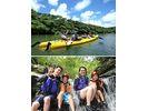 【ファミリーオススメ!】西表島マングローブカヌー&滝あそびいっぱいの様子