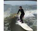 【福岡・筑後川】ウェイクサーフィン体験(初心者向けプラン)の様子