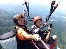 【山形・パラグライダー】インストラクター操縦の本格フライト☆タンデム体験コースの様子