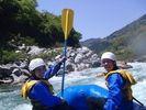 【四国・吉野川】激流体験!吉野川ラフティング大歩危(おおぼけ)コースの様子