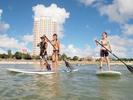 【沖縄・本島】サンゴ礁の海を水上散歩!SUP体験コースの様子
