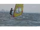 【千葉・検見川浜】ウィンドサーフィン体験コースの様子