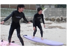 【広島発!日本海・浜田】大好評!親切・丁寧・楽しい!体験サーフィンの様子
