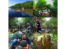 【沖縄・西表島】水の上に立って笑顔!はっぴぃマングローブ【SUP】の様子