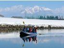 【北海道・富良野】冬の幻想川下り貸切ツアー(半日プラン)の様子