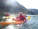 【京都・木津川】自然の川でプチ冒険が体験できる楽しいカヌー体験!の様子